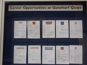List of career opportunities